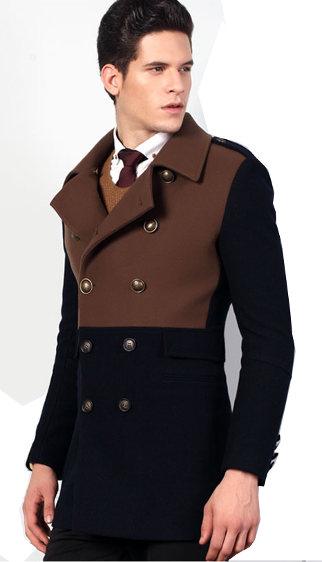 Product Features Coats are slim fit style and slightly smaller than expected.